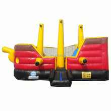 Pirate ship inflatable bouncy house inflatable combo B3085