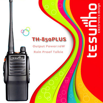 20km long distance customized 2 way radio TESUNHO Walkie Talkie TH-850PLUS UHF VHF walky talky