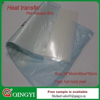 1188 Series Hot/Cold peel heat transfer thermo film