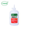 High performance cyanoacrylate instant adhesive MN406 ROHS certified with no Halogen for plastic, rubber, metal