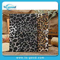 For iPad Air Cover Macro Leopard Print Case Stand Tablet Designer Leather Cover For Apple iPad 5 ipad air Case