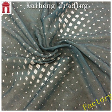 gilding tulle plain fabric for women clothing/silver glitter mesh fabric for dress 100% polyester dubai stytle