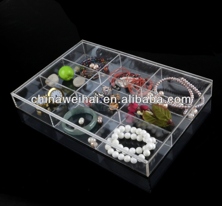 2013 new design acrylic jewelry displays and case
