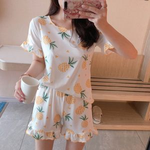 high quality cheap pijamas woman sets with cute nighty images casual pajamas women shorts sleepwear