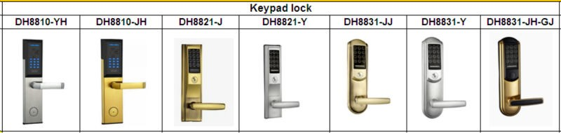 Security Digital Keypad RFID Card Keyless Home Door Lock