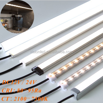 High quality led aluminium extrusion with diffuser cover for led strip light