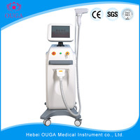 Portable equipment parts 808nm diode hair remover laser machine