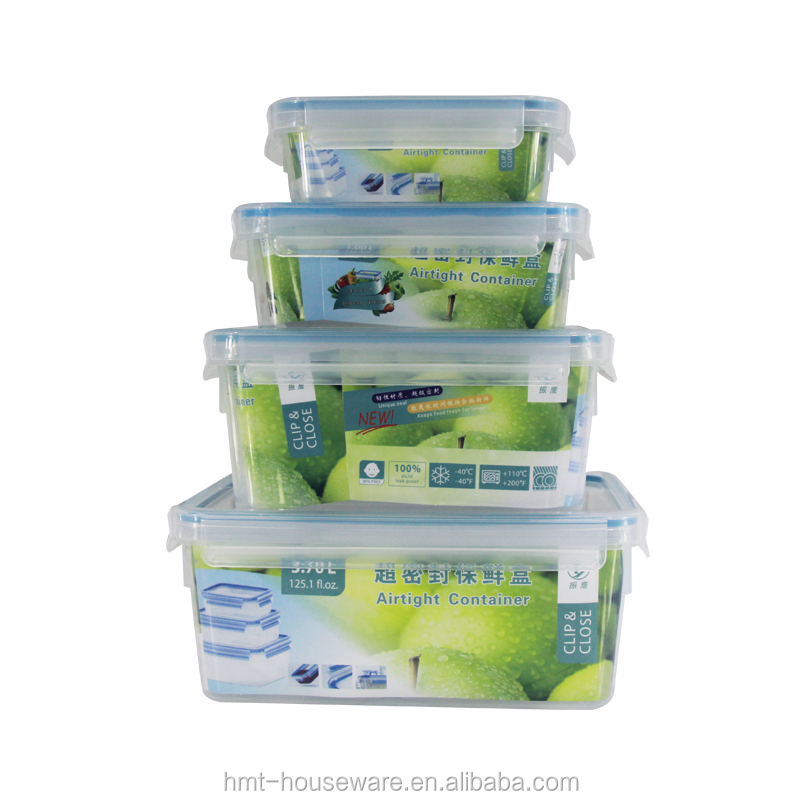 Best selling 2.3 liters lunch box bento leak proof stackable plastic vegetable bins bento boxes reusable plastic bento container