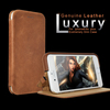 Genuine Vegetable Tanned Leather Black Mobile Leather Case for iphone 6s