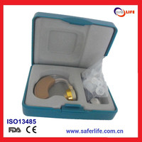New design digital hearing devices affordable BTE hearing aids amplifier FDA proved