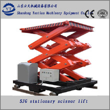Electric Hydraulic Stable Lift For Car Washing