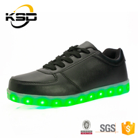 2016 Leather Shoes For Men Cheap Wholesale Give Patent LED Shoes
