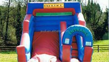 Cartoon Superslide/Air Filled Inflatable Slide