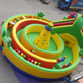 Inflatable obstacles climbing/inflatable playground on sale