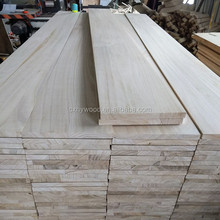Free Sample Paulownia Primed Trim Board With Wood Factory Environmental Friendly Paulownia Jointed Board