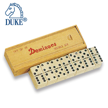 Mini Travel Dominoes With Wooden Case