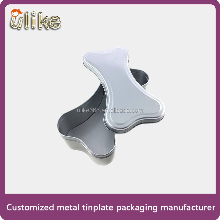 Bone Shape Tinplate Packaging Box for Pet Food