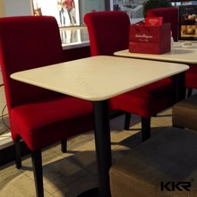 KFC table furniture, dining table and chairs for mcdonald's