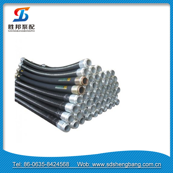 cement concrete discharge wire braided reinforced rubber hose