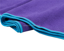 Custom hot yoga exercise towel microfiber
