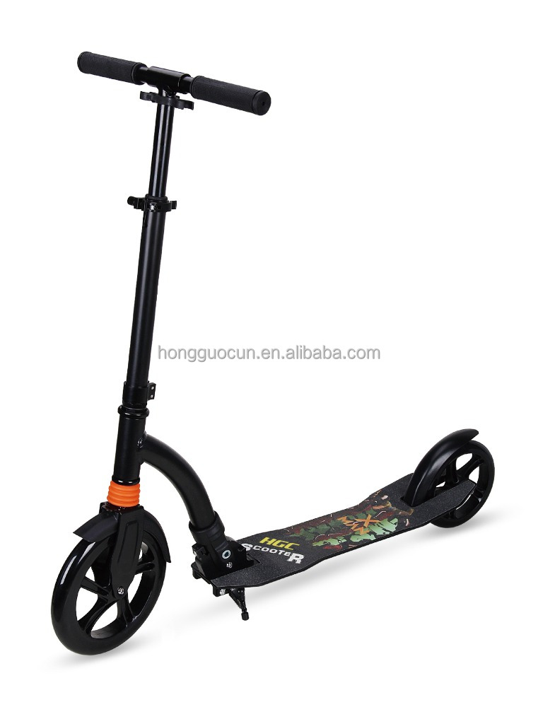 New designed adult foldable kick scooters with 200mm big wheels