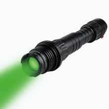 LS-KS1-G100 adjustable 100mw green laser designator with aluminum alloy suit case package