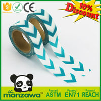 Japanese pvc warning washi tape for strapping