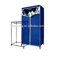 Simple large canvas wardrobe