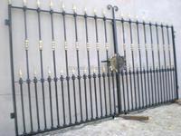 yard decoration outdoor cast iron fence