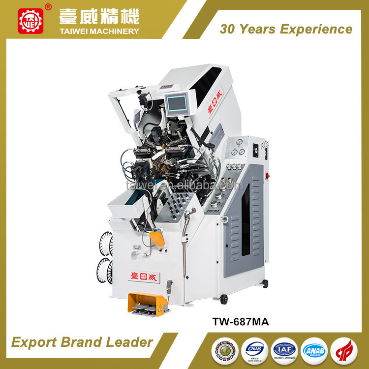 Computerized Full Automatic Cementing Shoe Toe Lasting Machine
