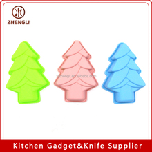 MGB0005 bakeware cupcakes One Hole Merry Chrismas Tree Cupcake Big Size