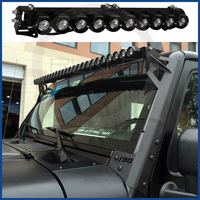 DIY Spot beam 10w-250w high-end single row hunting off road led light bars with cree chip