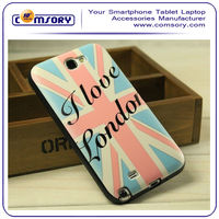 British Flag Pattern TPU soft Case Cover for SAMSUNG Galaxy Note 2 N7100
