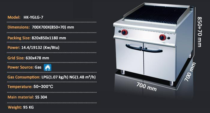 Commercial Restaurant kitchen Equipment Grill/Stainless Steel Commercial Kitchen Equipment/Kitchen Machines And Equipment