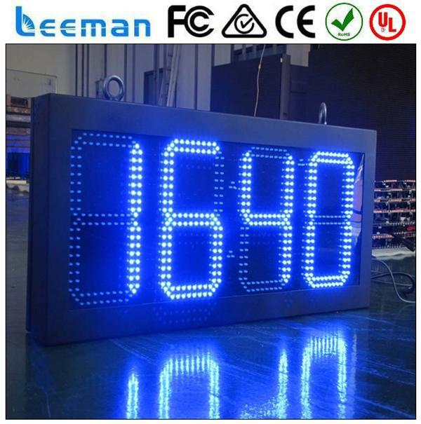 led display for time date temperature rental led screen led price display timer counter l