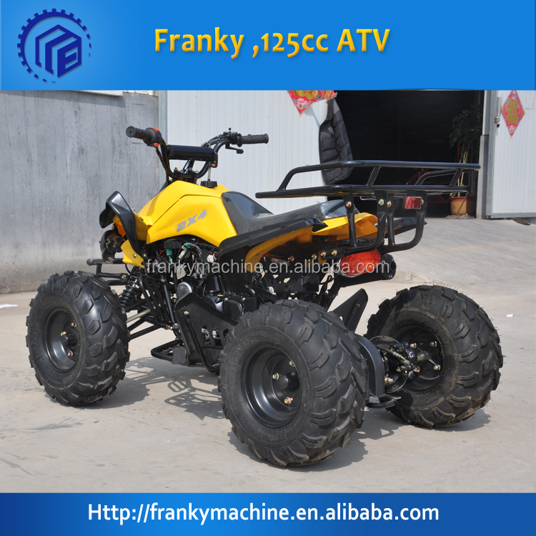 New design 2 wheel drive atv