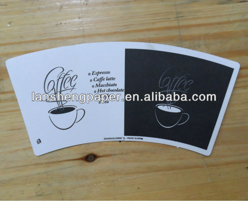 coffee paper cup fan make paper cup in pe coated paper cup forming machine