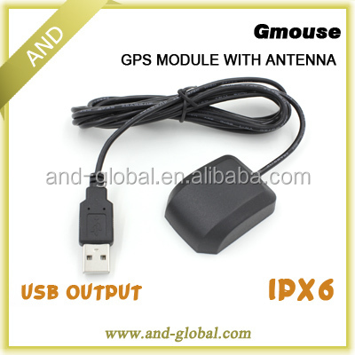 GPS engine board /Module with Antenna USB interface G Mouse Replace GlobalSat BU-353 S4