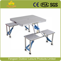 Portable Aluminum Folding Outdoor Heights Adjustable