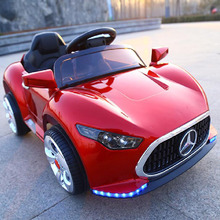 Wholesale Rechargeable Battery Child Mini Vehicle 0-7 Years 12V Kids Electric Car with Steering Wheel