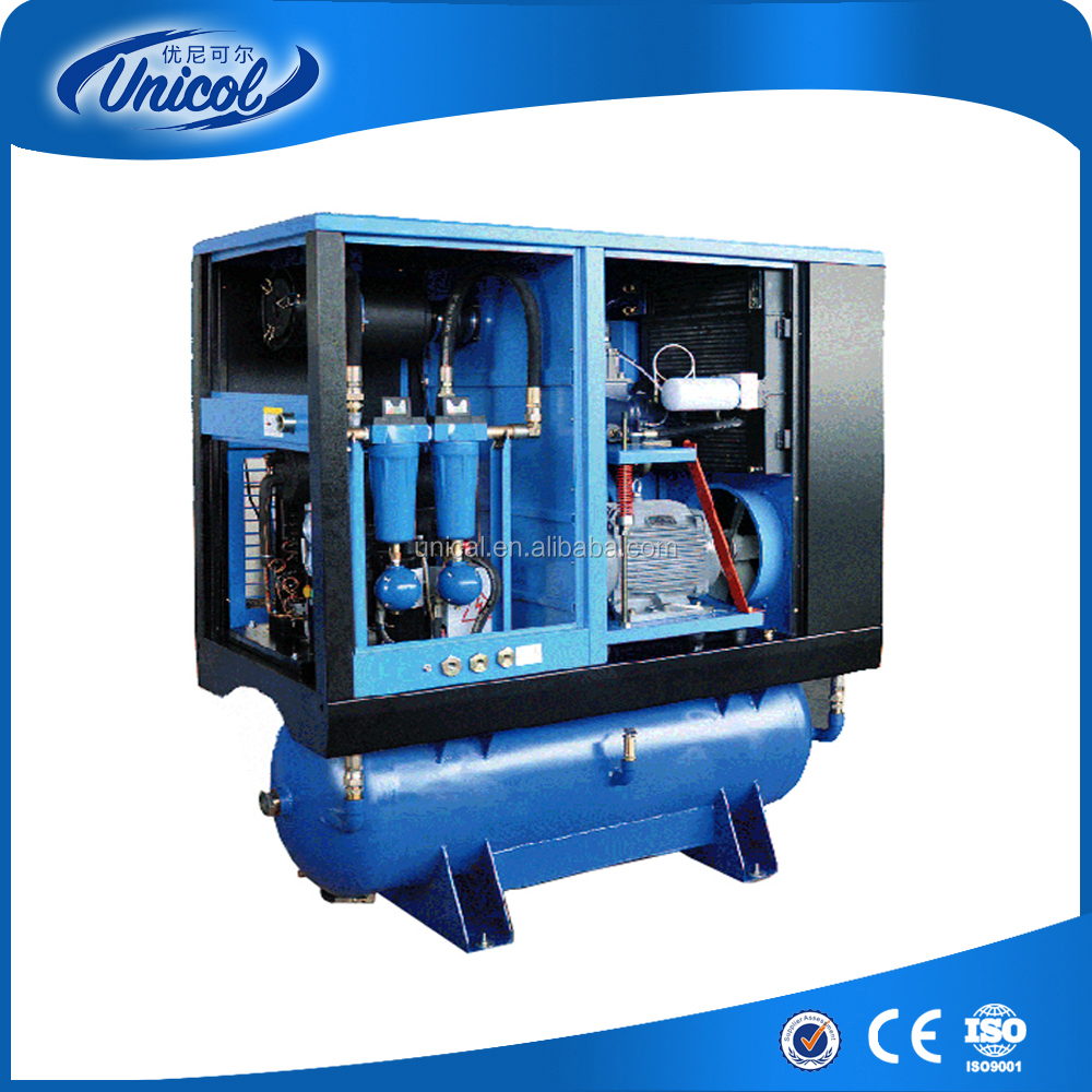 SLB-15TY 15kw 20hp Integrated screw air compressor 300L air tank