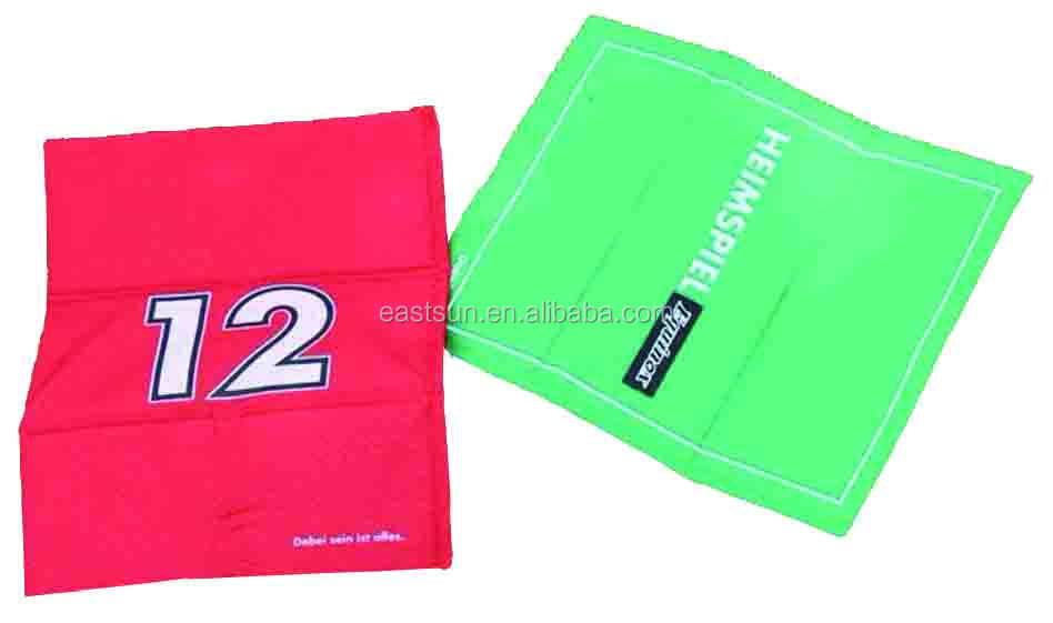 1color printed PE Foam with polyester cover foldable Cushion without handle