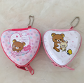 Heart Shaped Tin Mini Coin Purse