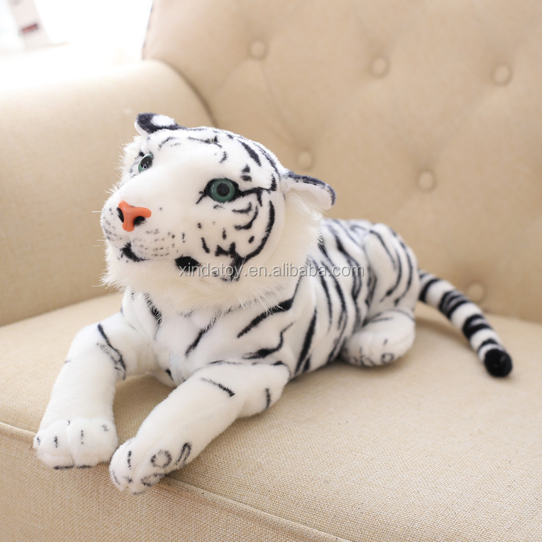Animated and imitational stuffed plush dog leopard tiger toys