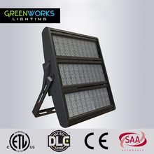 DLC ETL listed outdoor IP65 led stadium lighting 1000 watt led