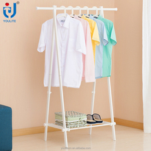 Heavy duty folding stand metal coat rack