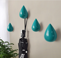 Unique Drip Shape Home Decorative Poly Wall Art Hangers