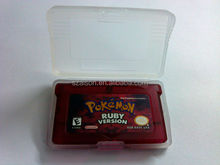 Free Shipping by DHL for game cartridge classical for nintendo GBA pokemon games