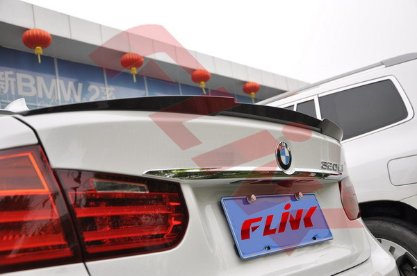 carbon fiber auto parts for M3 M4 sport performance spoiler for BMW F30 F35