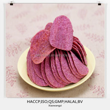 Canned Brands' style purple potato chips
